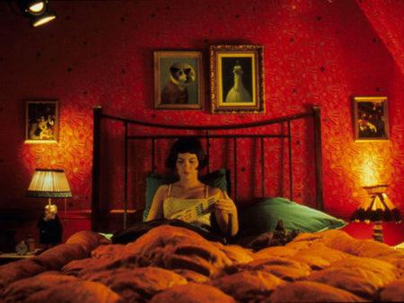 映画アメリの赤い部屋