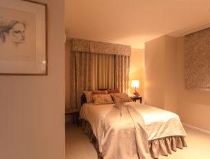 ベージュの寝室、デコール東京のリフォーム事例