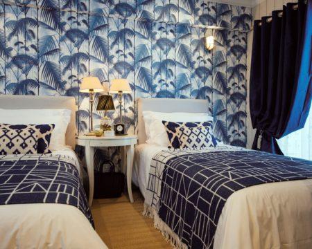 青い寝室の事例