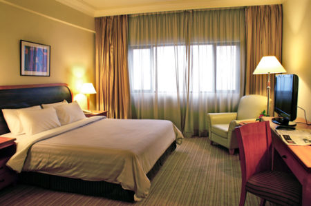 ホテルのような寝室の参考になる実際のホテルの部屋