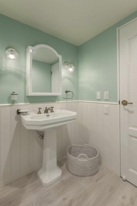 洗面室リフォームビフォーアフター(after)